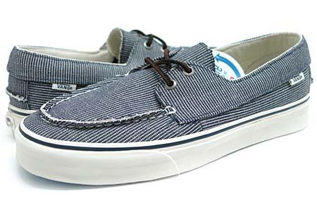 VANS ZAPATO SLIP CA [PINSTRIPE/DRESS BLUE] 0L9W3OJ