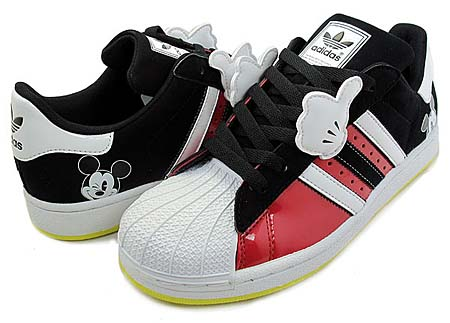 adidas × Disney SUPER STAR J MICKEY GS [RED/WHITE-BLACK] G48958