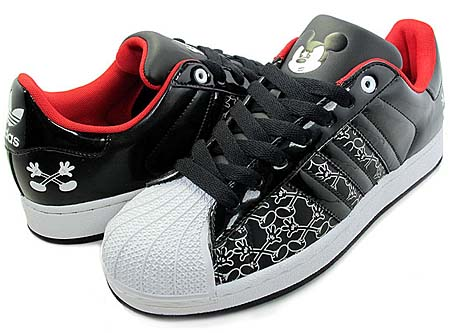 adidas × Disney SUPER STAR 2 MICKEY X [BLACK/WHITE] G48969