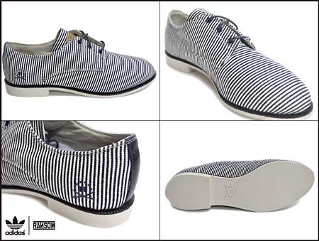 adidas RANSOM DOVER [WHITE PINSTRIPE] G51681 写真1