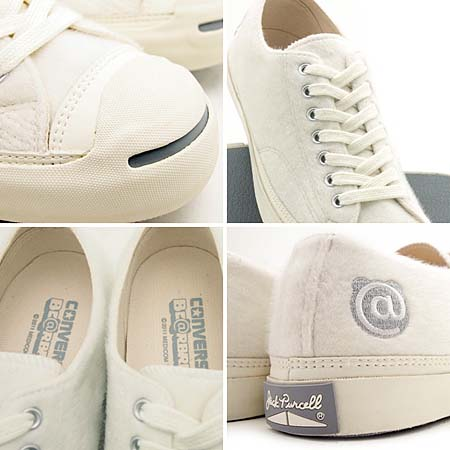converse JACKPURCELL BE@BRICK [WHITE] 3226138 写真2
