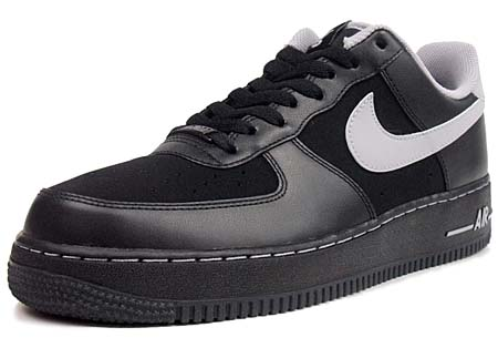 NIKE NIKE AIR FORCE 1 LOW 07 [2011 NBA ALLSTAR GAME|BLACK/GRAY] 315122-046 画像