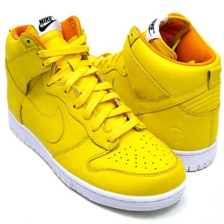 NIKE DUNK HIGH BZ [quest love|YELLOW] 434245-700