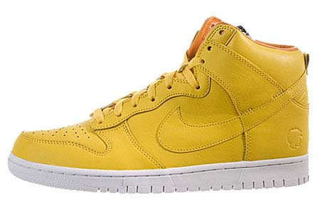 NIKE NIKE DUNK HIGH BZ [quest love|YELLOW] 434245-700 画像