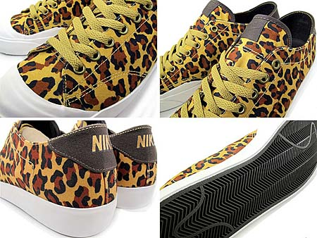 NIKE ZOOM ALL COURT 2 LOW TZ [FragmentDesign|GOLD LEOPARD] 488492-700