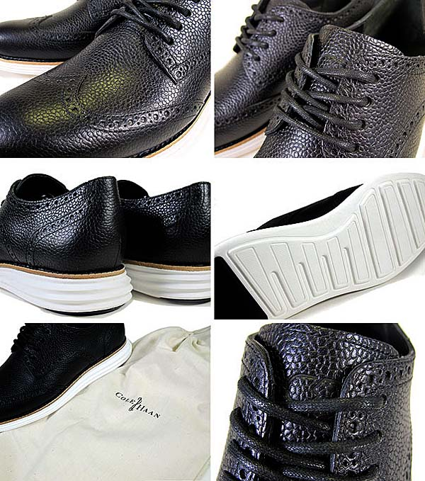 COLE HAAN LUNARGRAND WING TIP [FRAGMENT DESIGN|BLACK] C11193 写真2