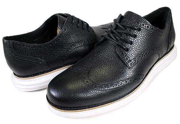 COLE HAAN LUNARGRAND WING TIP [FRAGMENT DESIGN|BLACK] C11193