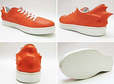 Puma URBAN SWIFT [Urban Mobility by Hussein Chalayan|MANDARIN RED] 353059 画像1
