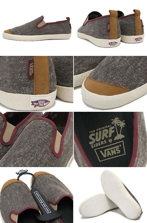 VANS SURFJITSU LE Premium [BROWN/MAROON/OFF WHITE] 0RRP7BL 写真1