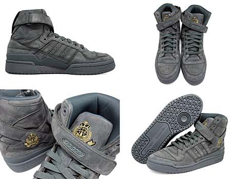 adidas ORIGINALS FORUM HI [HUSTLERS CREST GRAY] G48074 写真1