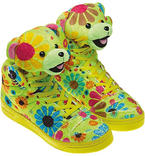 adidas OBYO JEREMY SCOTT TEDDY BEAR [FLOWER POWER] G61076 写真1