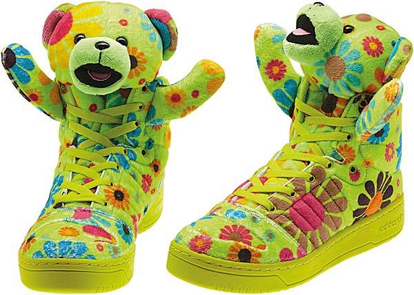 adidas OBYO JEREMY SCOTT TEDDY BEAR [FLOWER POWER] G61076