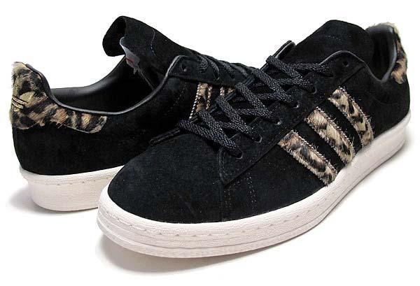 adidas Originals for XLARGE CAMPUS 80'S [BLACK LEOPARD] Q34551