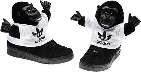 adidas OBYO Jeremy Scott JS GORILLA [BLACK] V24424 写真1