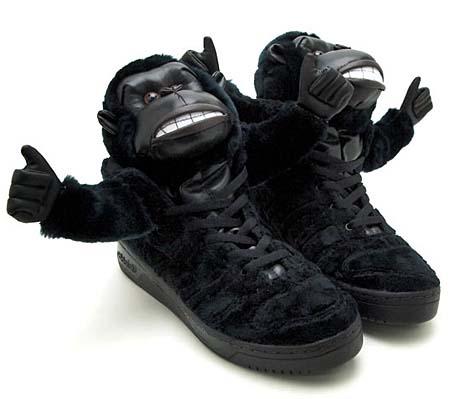 adidas OBYO Jeremy Scott JS GORILLA [BLACK] V24424