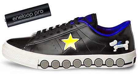 CONVERSE x eneloop ONE STAR GENERATOR [BLACK] 20120401