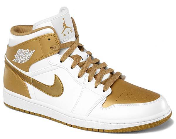 NIKE AIR JORDAN 1 PHAT GOLDEN MOMENTS [WHITE/METALLIC GOLD] 364770-130