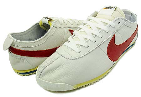 NIKE NIKE CORTEZ CLASSIC OG LEATHER VINTAGE QS [WHITE/VARSITY RED-SAIL] 516622-160 画像