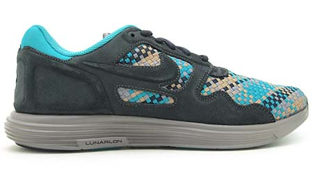 NIKE LUNAR FLOW WOVEN QS [ANTHRACITE/BLACK-BAMBOO] 526636-007