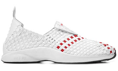 NIKE NIKE AIR WOVEN QS [WHITE/UNI RED] 530986-150 画像
