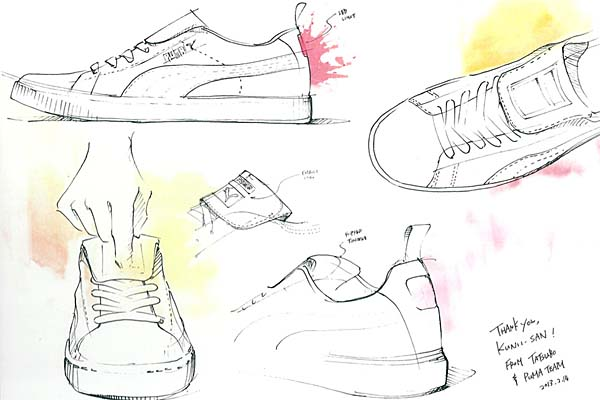 Puma SUEDE CYCLE MITA [mita sneakers LIMITED EDITION for The LIST] SUEDE_CYCLE_MITA 画像3