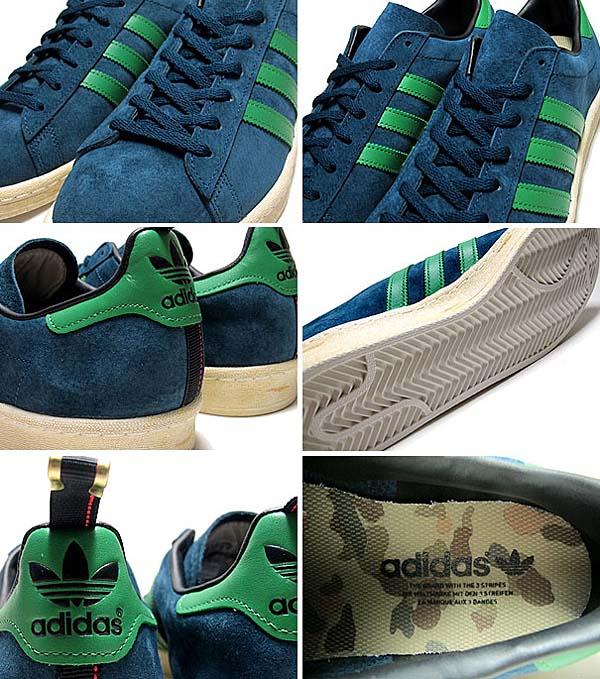 adidas CAMPUS 80s [DARK PETROL/REAL GREEN] G96465 写真1