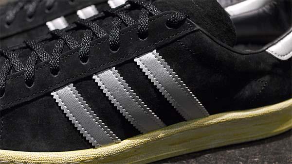 adidas originals CAMPUS 80s MITA [BLACK/SILVER] Q21640 写真2