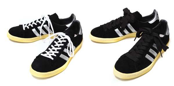 adidas originals CAMPUS 80s MITA [BLACK/SILVER] Q21640 写真3