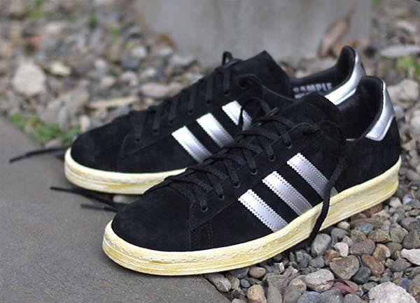 adidas originals CAMPUS 80s MITA [BLACK/SILVER] Q21640