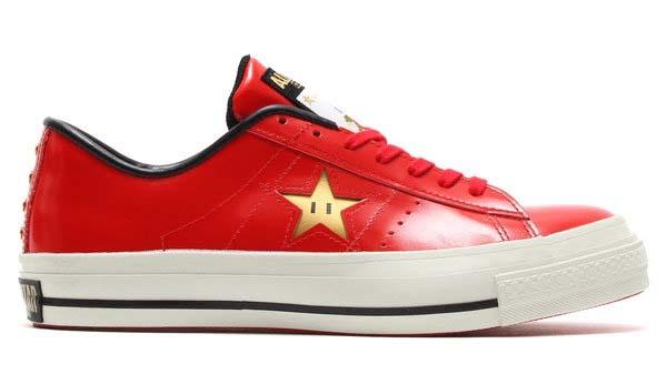 CONVERSE ONE STAR J SUPER MARIO BROS. [MARIO / RED] 32346732