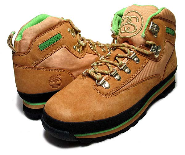 TIMBERLAND x STUSSY EURO HIKER BOOT [WHEAT] 6239A