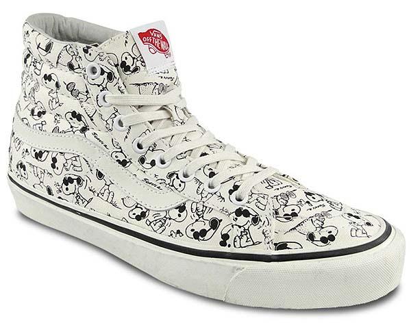 VANS x PEANUTS OG Sk8-Hi LX Camp Snoopy [WHITE] 0OZEDD6