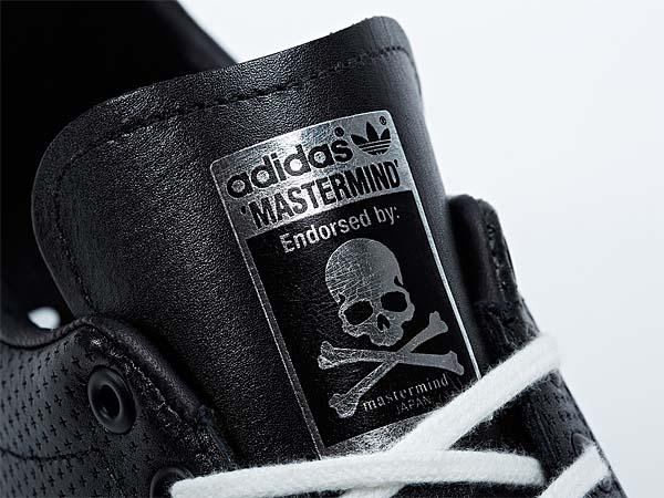 adidas STAN SMITH mastermind JAPAN [BLACK/METALLIC SILVER] M22697 写真1