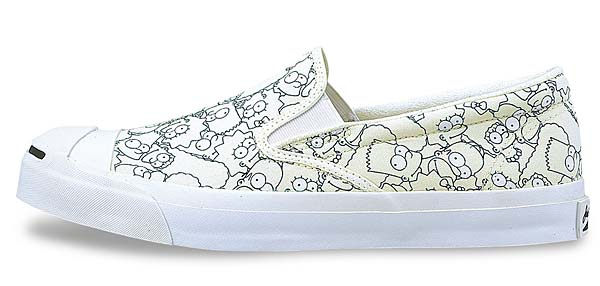 CONVERSE JACK PURCELL THE SIMPSONS SLIP-ON [WHITE] 32261980 写真1