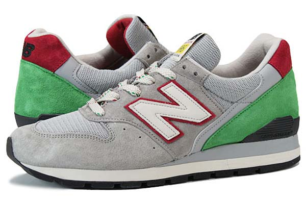 new balance M996 PG [GREY/GREEN/RED]