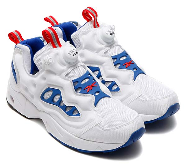 Reebok INSTA PUMP FURY ROAD [WHITE / TEAM DARK ROYAL / RED RUSH / BLACK] V66586