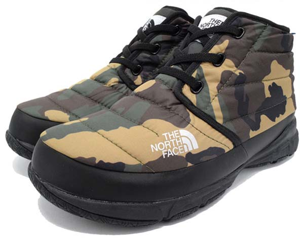 THE NORTH FACE NSE TRACTION CHUKKA LITE WP [WOODLAND CAMO] NF51581