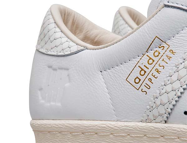 adidas olginals SUPERSTAR 80v UNDEFEATED CONSORTIUM 10th ANNIVERSARY [CORE WHITE/CORE BLACK/CORE WHITE] B34077