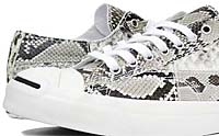 CONVERSE JACK PURCELL NATURAL PYTHON LEATHER [WHITE/BLACK] (32242450)
