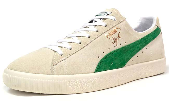 Puma CLYDE XLARGE x mita sneakers [NAT / K.GREEN] 363564-01