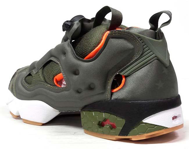 Reebok x Winiche & Co. x mita sneakers INSTA PUMP FURY OG FLIGHT JACKET [OLIVE / ORANGE / WHITE] AR3508