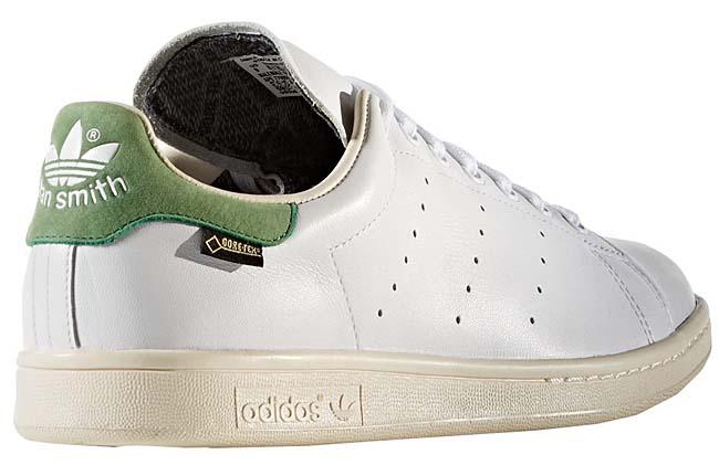 adidas Originals STAN SMITH GTX Gore-Tex [RUNNING WHITE / GREEN] S80049