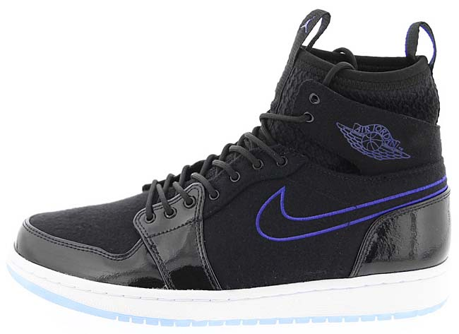 NIKE AIR JORDAN 1 RETRO ULTRA HIGH SPACE JAM [BLACK / CONCORD-BLACK-WHITE] 844700-002