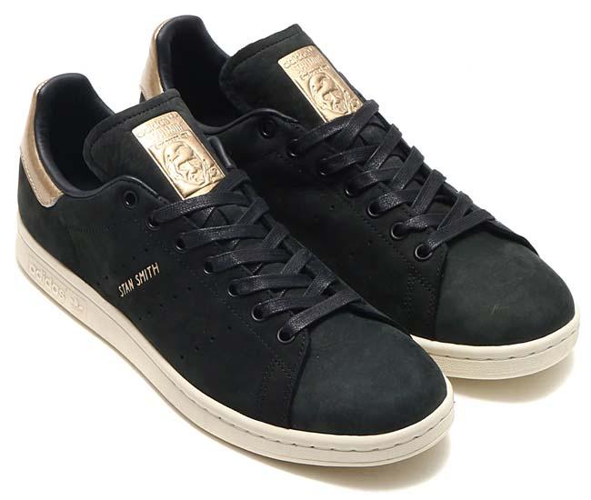 adidas Originals STAN SMITH 999 W [CORE BLACK / CORE BLACK / SUPPLIER COLOR] BY9919