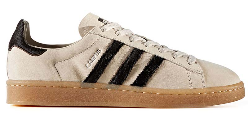 adidas Originals CAMPUS [CLEAR BROWN / CORE BLACK / SILVER MET] BZ0072