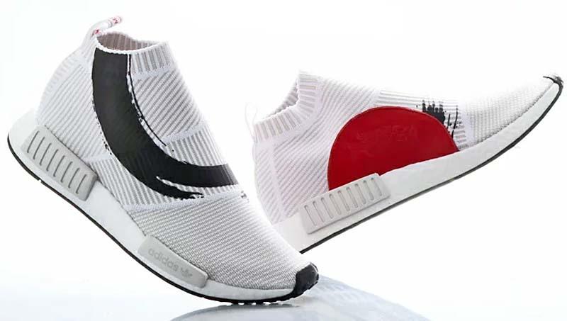 adidas Originals NMD_CS1 PK [RUNNING WHITE / RUNNING WHITE / CORE BLACK] bb9260 アディダスオリジナルス NMD_CS1 プライムニット 「ホワイト/ブラック/レッド」