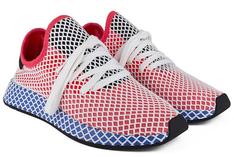 adidas Orignals DEERUPT RUNNER [SOLAR RED / BLUE BIRD] cq2624
