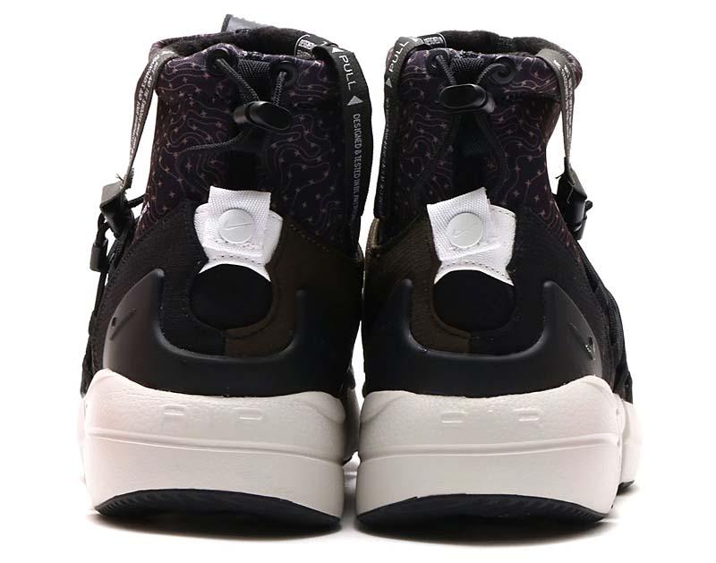 NIKE AIR FOOTSCAPE MID UTILITY [BLACK / WHITE-CARGO KHAKI-LIGHT BONE] 924455-001