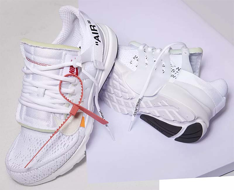 NIKE x Virgil Abloh (OFF-WHITE) AIR PRESTO THE TEN [WHITE / BLACK-CONE] AA3830-100