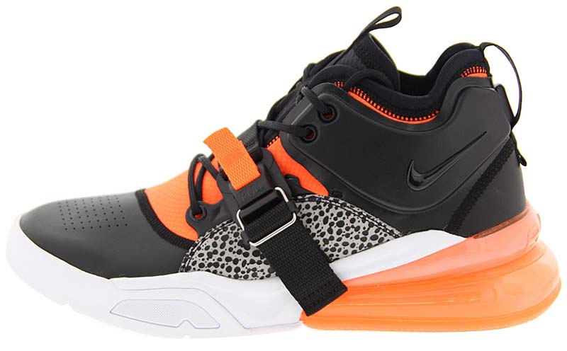 NIKE AIR FORCE 270 [BLACK / HYPER CRIMSON-WOLF GREY-WHITE] ah6772-004